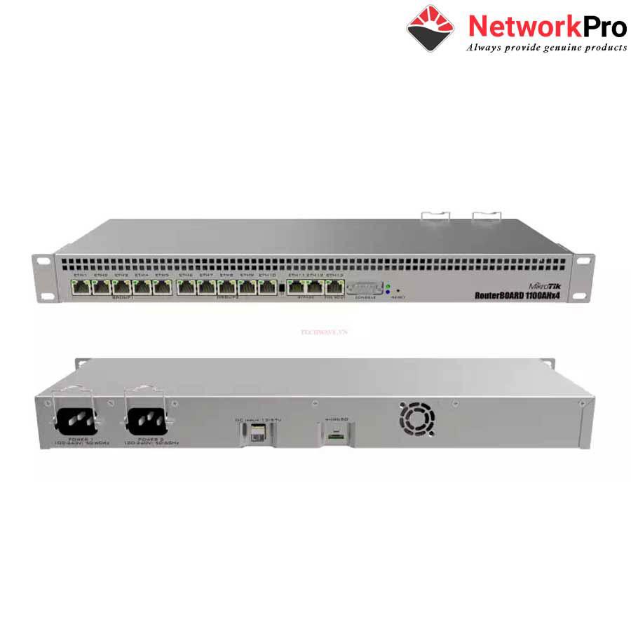 Router Mikrotik RB1100AHx4 giá tốt tại hcm chịu tải cao