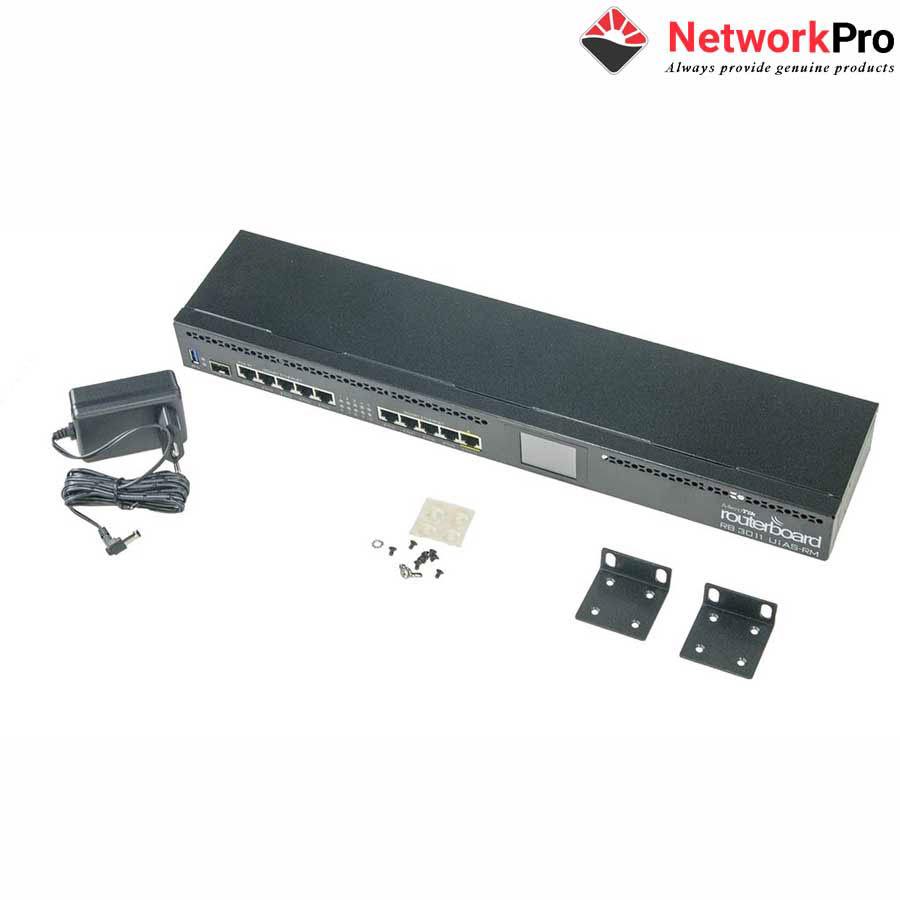 Bộ Thiết bị Router Mikrotik RB3011UiAS-RM