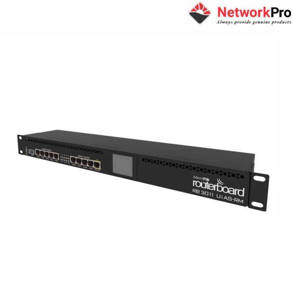 Thiết Bị Mạng Router Mikrotik RB3011UiAS-RM - NetworkPro.v
