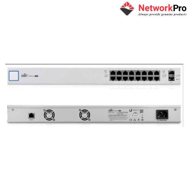 Thiết bị chuyển mạch UniFi Switch US-16-150W - NetworkPr