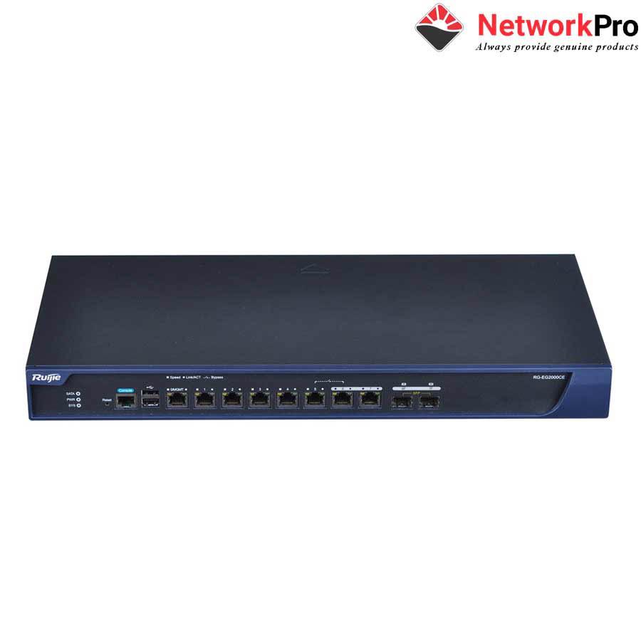 10-port Gigabit Cloud Managed Gataway RUIJIE RG-EG3230
