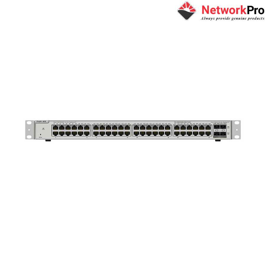 Thiết bị mạng HUB -SWITCH Ruijie RG-NBS5100-48GT4SFP