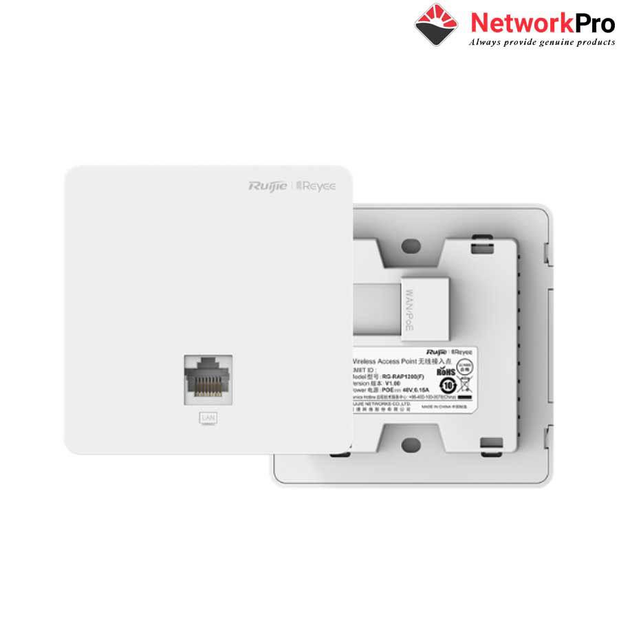 RG-RAP1200(F) AC1300 Dual Band Wall-plate Access Point