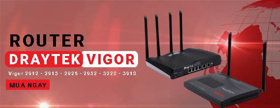 Router Draytek - Bộ Định Tuyến Draytek Chính Hãng - NetworkPro