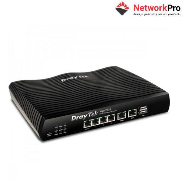 Router Draytek Vigor2926 chính hãng phân phối tại NetworkPro.vn