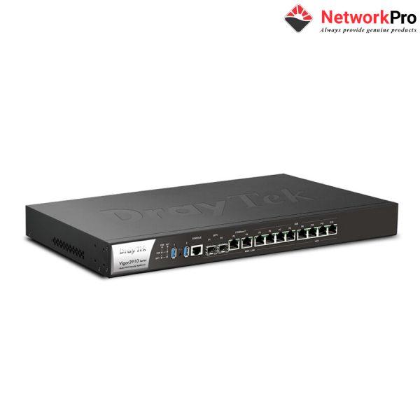 Thiết bị định tuyến router Draytek Vigor3910 chính hãng.