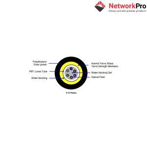 Cáp quang Commscope 4FO OM2 50/125 Chính Hãng Tại NetworkPro