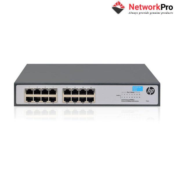 Thiết bị mạng HP 1420-16G Switch (JH016A) - Máy chủ Net