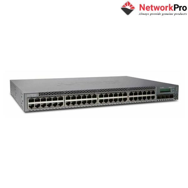 Switch Juniper 48 Ports Data 4 SFP+ Uplink Slot EX3300-48T Netwo