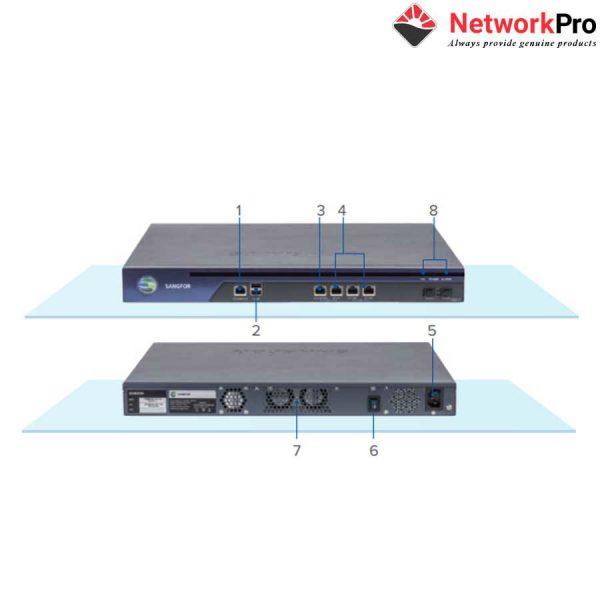Thiết bị bảo mật Firewall Sangfor NGAF M5200-F-I chính