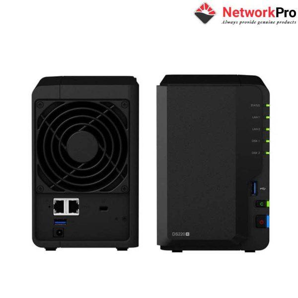 Nas Synology DS220j+ Chính Hãng Tại NetworkPro