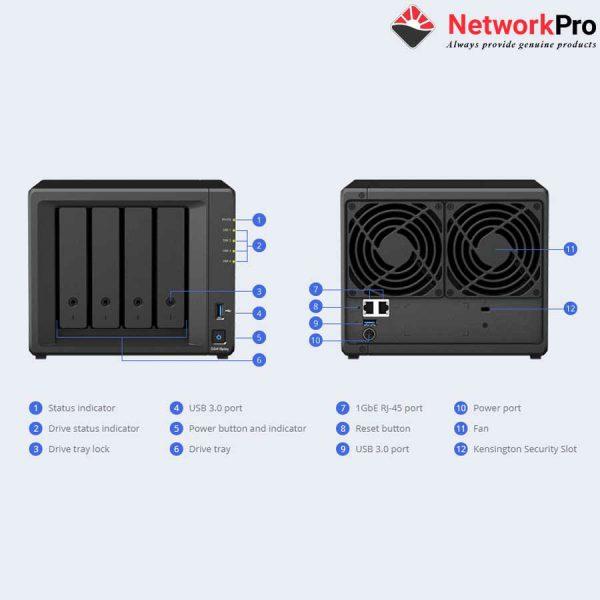 Nas Synology DS418play Chính Hãng Tại NetworkPro