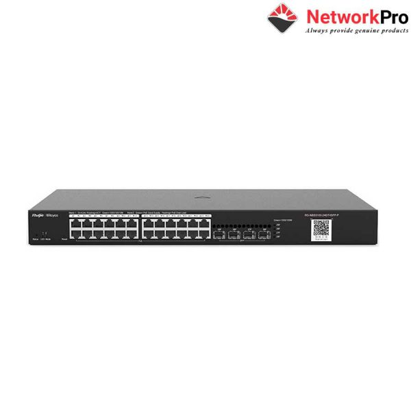 Switch Ruijie Reyee RG-NBS3100-24GT4SFP - NetworkPro.vn