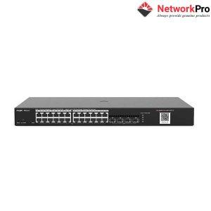 Switch Ruijie Reyee RG-NBS3100-24GT4SFP-P 24-Port - NetworkPro.v