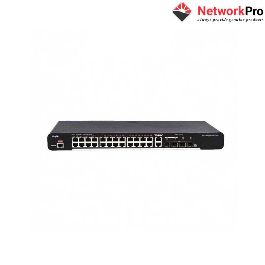 24-port 10/100Base-T Managed PoE Switch RUIJIE