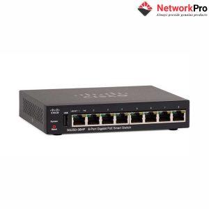 Switch-Cisco-SG250-08HP-K9-EU - NetworkPro.vn