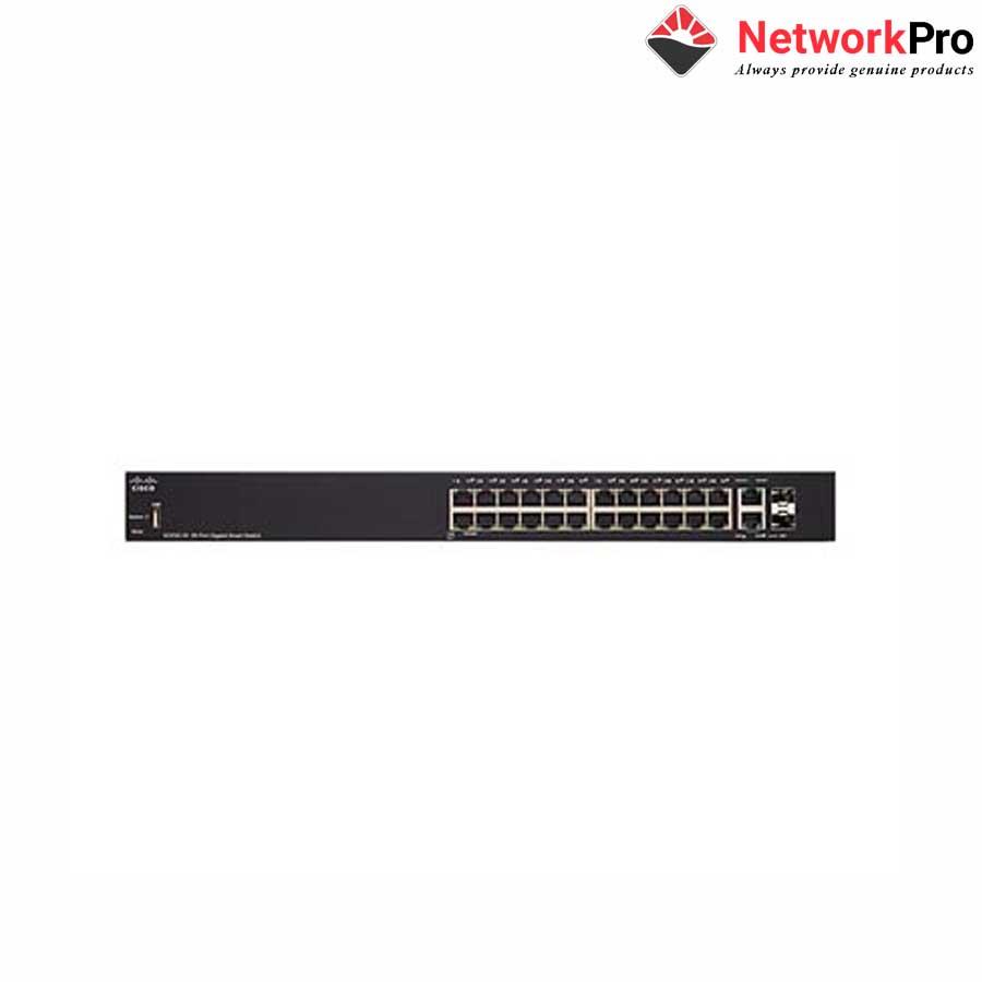 Switch Cisco SG250-26HP-K9 24 Ports PoE+