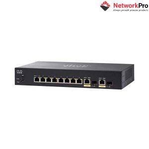 Cisco SG350-10MP-K9-EU Managed Switch chính hãng - NetworkPro.vn