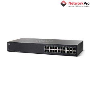 Switch Cisco SG350-20-K9-EU - 16 GE Port, 2 GE Uplink, 2 SFP