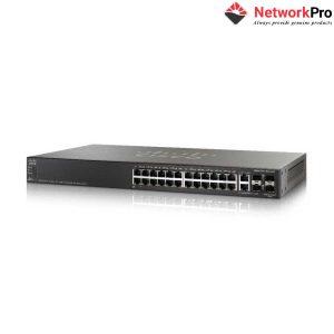 Switch Cisco SG550X-24-K9-EU - 24 Ports 10/100/1000, 4x 10 GE