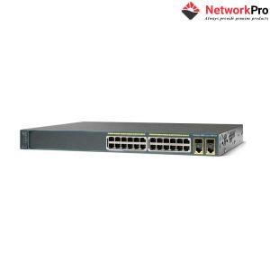 Switch CISCO Catalyst 2960 WS-C2960-24PC-S | NetworkPro.vn