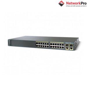 Thiết Bị Switch Cisco WS-C2960+24TC-S | NetworkPro.vn