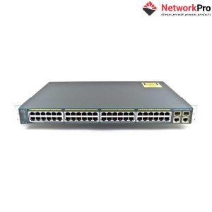 Thiết Bị Chuyển Mạch Switch Cisco WS-C2960+48PST-S - NetworkPro.vn