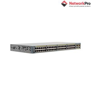 Thiết Bị Chuyển Mạch Switch Cisco WS-C2960-48TC-L - NetworkPro.vn