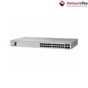 Switch Cisco WS-C2960L-24TQ-LL 24 port - NetworkPro.vn