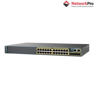 Switch Cisco WS-C2960X-24TD-L - NetworkPro.vn