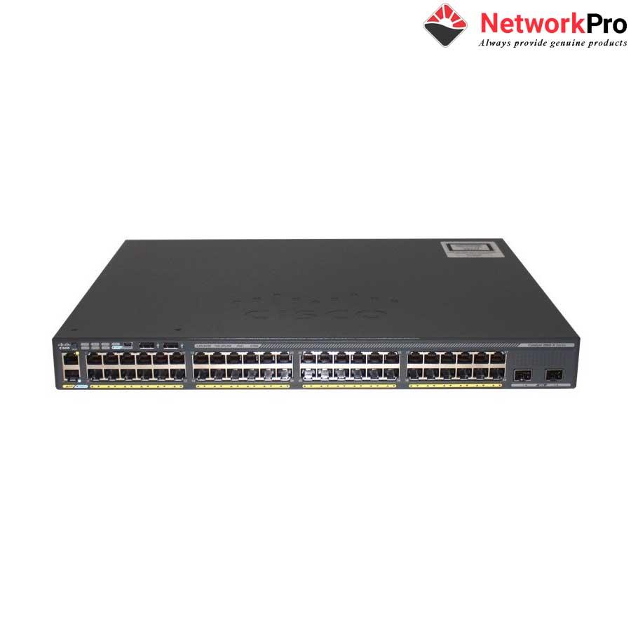 48-Port GigE Switch Cisco Catalyst WS-C2960X-48LPD-L