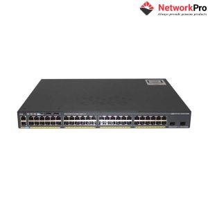 48-Port GigE Switch Cisco Catalyst WS-C2960X-48LPS-L | NetworkPro.vn