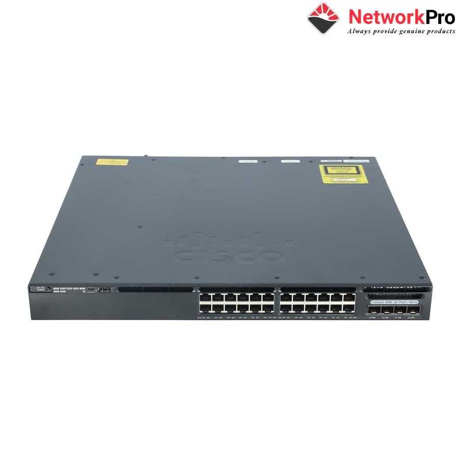 Switch Cisco WS-C3650-24PS-L