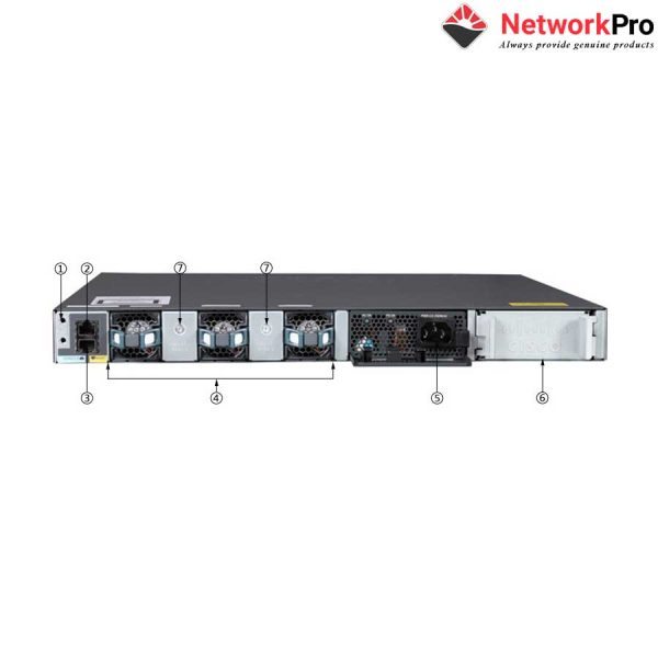 Switch Cisco WS-C3650-24PS-L | NetworkPro.vn