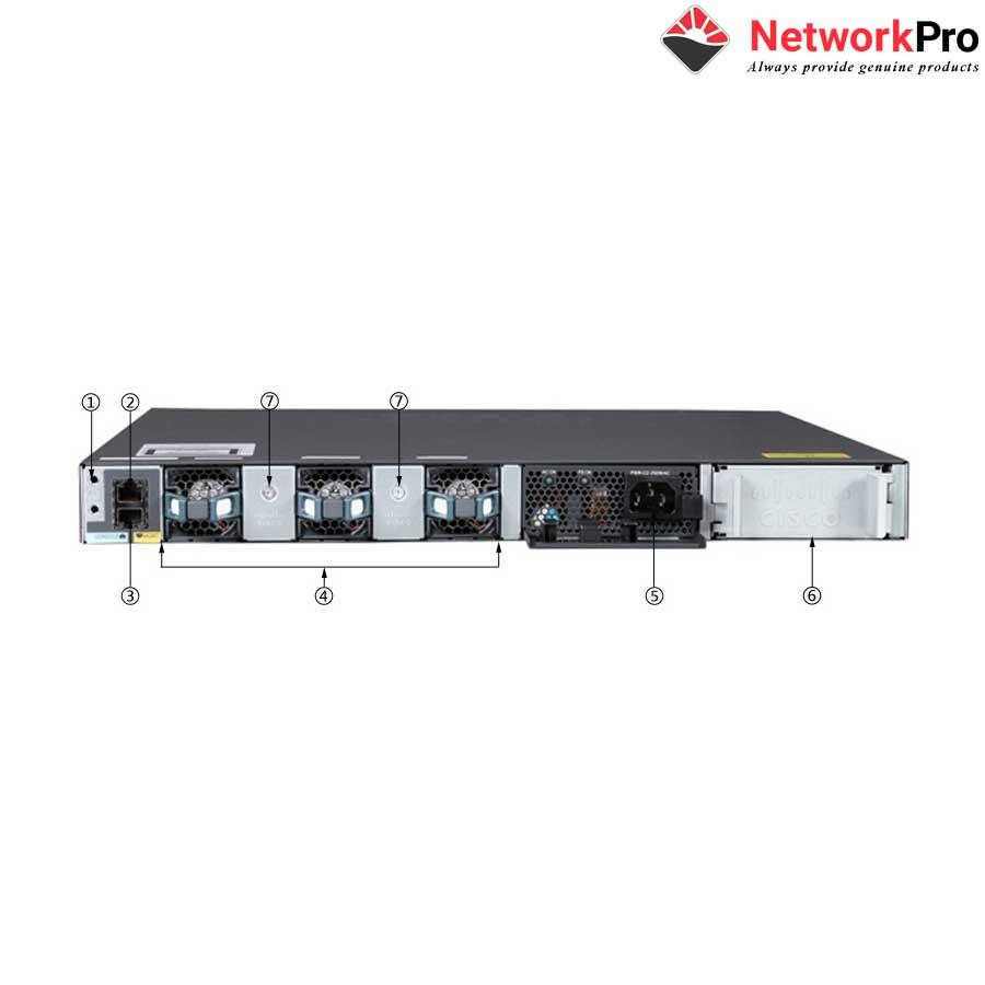 24-Port 10/100/1000Mbps + 4 x Gigabit SFP LAN Base Switch