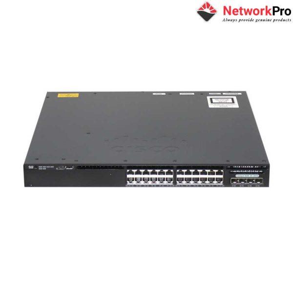 Cisco WS-C3650-24TS-L 24 Port Data 4x1G Uplink LAN Base