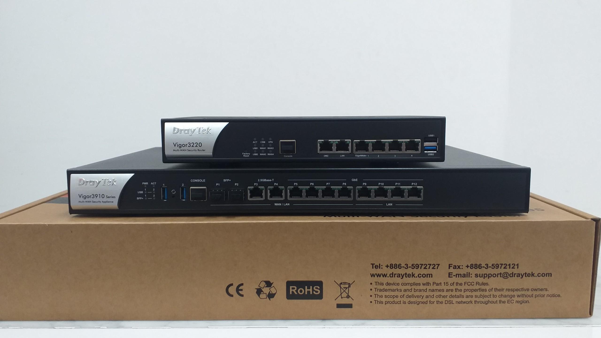 Router Draytek Vigor3910 - NetworkPro