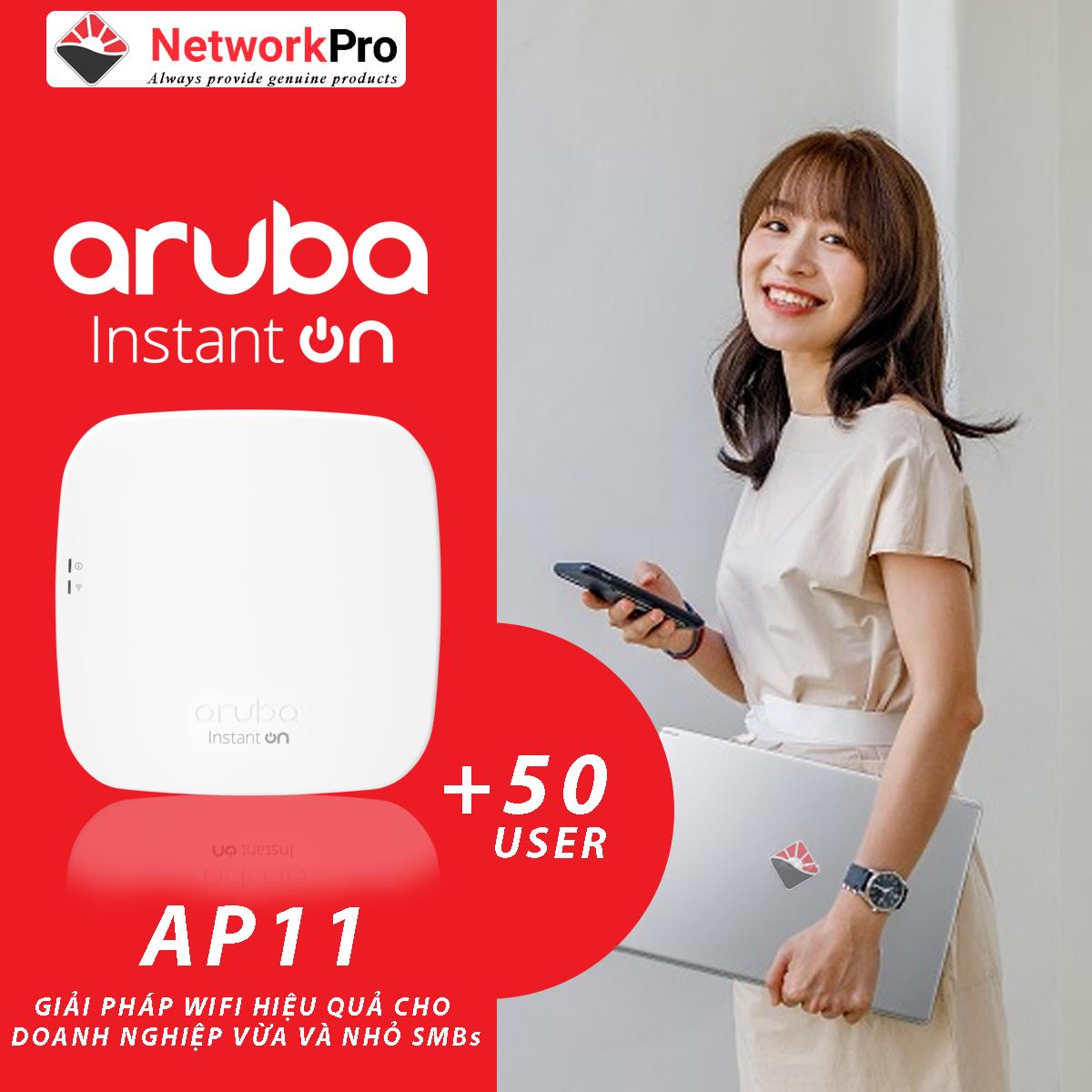 Bộ phát sóng wifi Aruba Instant On AP11