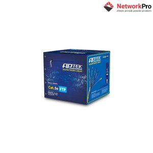 Cáp mạng APTEK CAT.5e FTP Copper, 24AWG, vỏ nhựa PE - NetworkPro