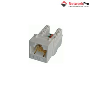 DINTEK Module Jack Cat.6dạng ngang E-Jack_NetworkPro