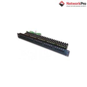 DINTEK Patch Panel Cat.3 Telephone 1 U 25P 19inch - NetworkPro