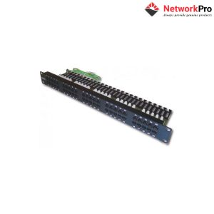 DINTEK Patch Panel Cat3 Telephone 1U 50P 19inch - NetworkPro