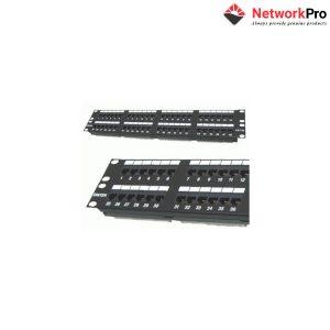 DINTEK Patch Panel Cat.5e UTP 2U 48P 19inch - NetworkPro