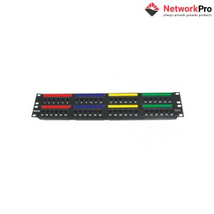 DINTEK Patch Panel Cat.6 UTP 2U 48P 19inch - NetworkPro