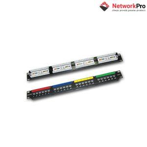 DINTEK Patch Panel Cat.6 UTP 1U 24P 19inch - NetworkPro