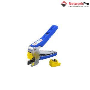 Dụng cụ nhấn 4 đôi cáp vào ổ cắm dạng ngang DINTEK - NetworkPro