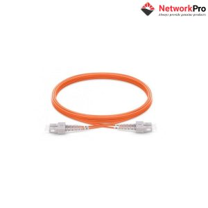 Fiber patch cord Multi-mode, OM2, duplex, SC/SC, 3m - NetworkPro