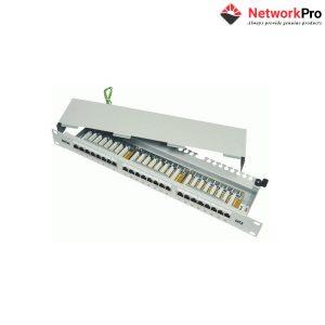 Patch panel 24-port Dinktek CAT6 19 inch - NetworkPro
