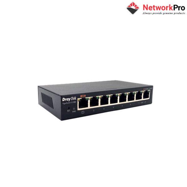 VigorSwitch G1080 - NetworkPro