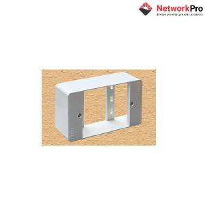Wall Box - Hộp đế nổi cho mặt nạ 1,2, port - NetworkPro